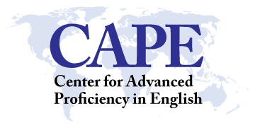 Center for Advanced Proficiency in English